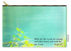 Psalm 27 Carry-all Pouch