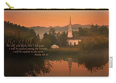 Psalm 46.10 Carry-all Pouch by Rob Blair