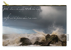 Psalm 62 2 Carry-all Pouch
