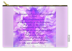 Psalm Eighty Nine Selected Verses Carry-all Pouch