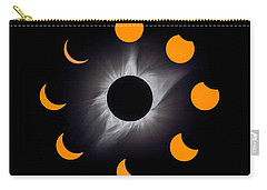Psalm Nineteen Solar Eclipse Carry-all Pouch