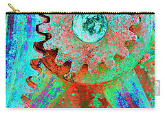 Psychedelic Gears Carry-all Pouch