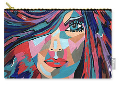 Psychedelic Jane Carry-all Pouch by Kathleen Sartoris