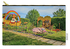 Carry-all Pouch featuring the photograph Psychedelic Rock 1. by Leif Sohlman