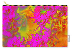 Psychedelic Spring Azaleas Carry-all Pouch by Suzanne Powers