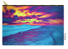 Psychedelic Sunset Carry-all Pouch
