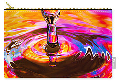 Psychedelic Water Drop Carry-all Pouch