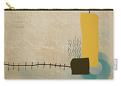 Carry-all Pouch featuring the mixed media Psychoactive Substance by Eduardo Tavares