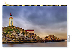 Pt Atkinson Lighthouse Sunset Carry-all Pouch