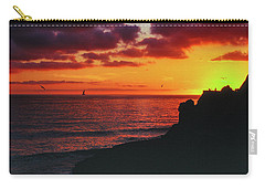 Carry-all Pouch featuring the photograph Pt Mugu Sunset by Samuel M Purvis III