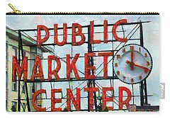 Public Market Center Carry-all Pouch