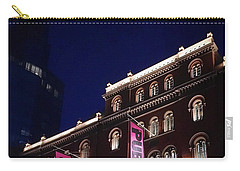 Public Theater Nyc  Carry-all Pouch by Sandy Taylor