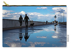 Puddle-licious Carry-all Pouch by Mary Amerman