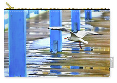Carry-all Pouch featuring the photograph Puddles by Diana Angstadt