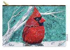Pudgy Cardinal Carry-all Pouch
