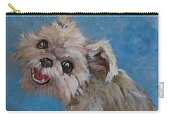 Pudgy Smiles Carry-all Pouch by Barbara O'Toole