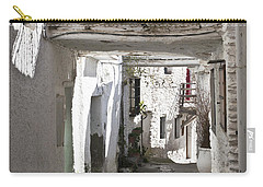 Carry-all Pouch featuring the photograph Puebla Blanca Capileira by Heiko Koehrer-Wagner