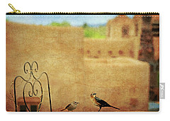Carry-all Pouch featuring the photograph Pueblo Village Settlers by Diana Angstadt