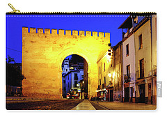 Carry-all Pouch featuring the photograph Puerta De Elvira by Fabrizio Troiani