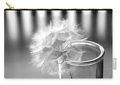 Carry-all Pouch featuring the photograph Puff Ball by Diane Alexander