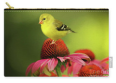 Puff Ball Of A Goldfinch  Carry-all Pouch