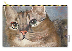 Puff  Ball Carry-all Pouch