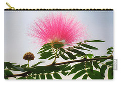 Puff Of Pink - Mimosa Flower Carry-all Pouch