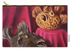 Puffer Fish Teapots Carry-all Pouch by Randy Burns