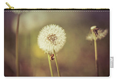 Carry-all Pouch featuring the photograph Puffer by Lora Lee Chapman