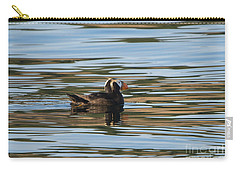 Puffin Reflected Carry-all Pouch by Mike Dawson