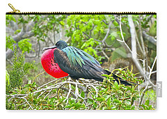 Puffing Up When Courting Carry-all Pouch