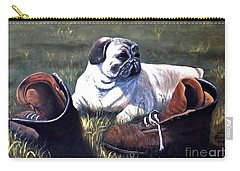 Pug And Boots Carry-all Pouch