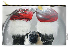 Pug And Santa Carry-all Pouch
