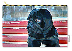 Pug In Deutschland Carry-all Pouch