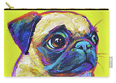 Pugsly Carry-all Pouch by Robert Phelps