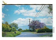 Pulehuiki Road Upcountry Kula Maui Hawaii Carry-all Pouch by Sharon Mau