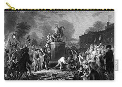 Pulling Down The Statue Of George IIi Carry-all Pouch