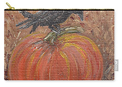 Pumpkin Crow Carry-all Pouch
