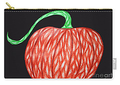 Pumpkin Carry-all Pouch by Jamie Lynn