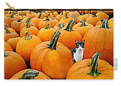 Pumpkin Patch Cat Carry-all Pouch