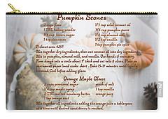 Pumpkin Scones Recipe Carry-all Pouch