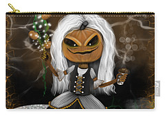 Pumpkin Spice Latte Monster Fantasy Art Carry-all Pouch