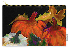 Pumpkins For Halloween Or Thanksgiving By Lisa Kaiser Carry-all Pouch