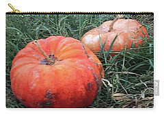 Pumpkins In A Row Carry-all Pouch