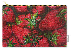 Pungo Strawberries Carry-all Pouch