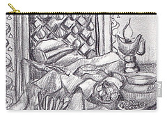 Punjabi Kitchen Pencil Sketch  Carry-all Pouch
