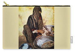 Punjabi Woman Traditional  Carry-all Pouch