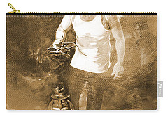 Carry-all Pouch featuring the painting Puppet Show by Gull G