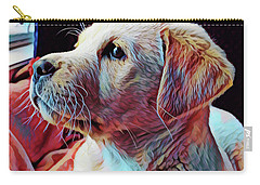 Puppy Dog Carry-all Pouch by Gary Grayson