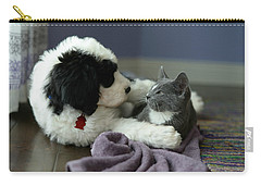 Puppy Love Carry-all Pouch by Linda Mishler